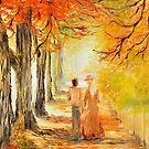 auttum walk romance by Glen Johnson