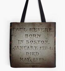 Paul Revere Memorial Tote Bag
