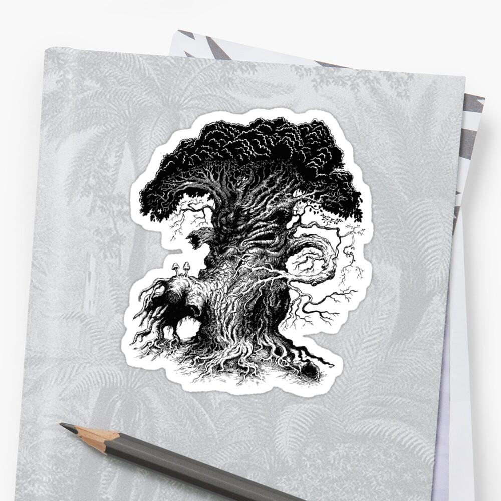 Stompy tree by Matthew Sergison-Main