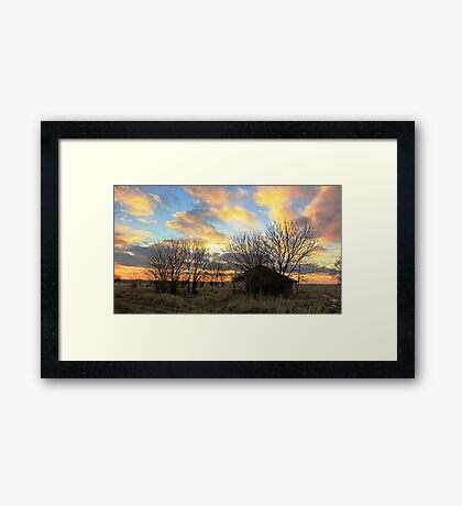 Pure Dakota Framed Print