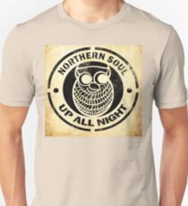 Northern Soul Up All Night Unisex T-Shirt