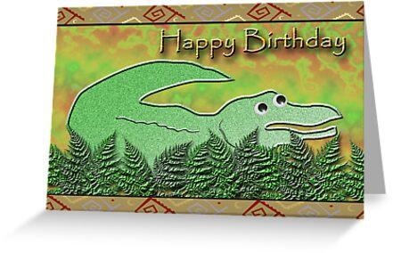 Happy Birthday Alligator by jkartlife