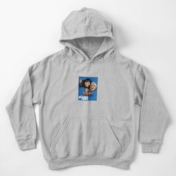 Planet of the Apes - 70s TV series Kids Pullover Hoodie