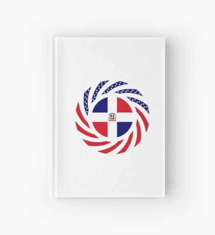 Dominican American Multinational Patriot Flag Series Hardcover Journal