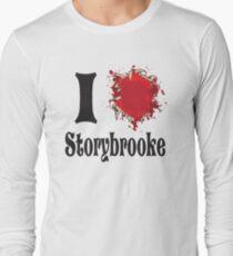 Once upon a time I love storybrooke Long Sleeve T-Shirt