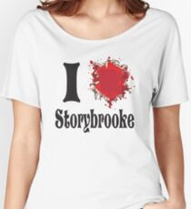 Once upon a time I love storybrooke Women's Relaxed Fit T-Shirt