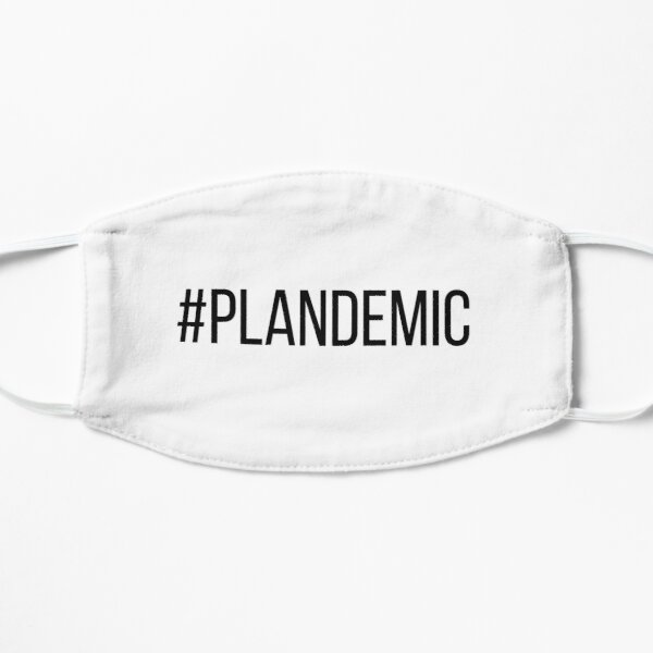 Plandemic (light colour version) Mask