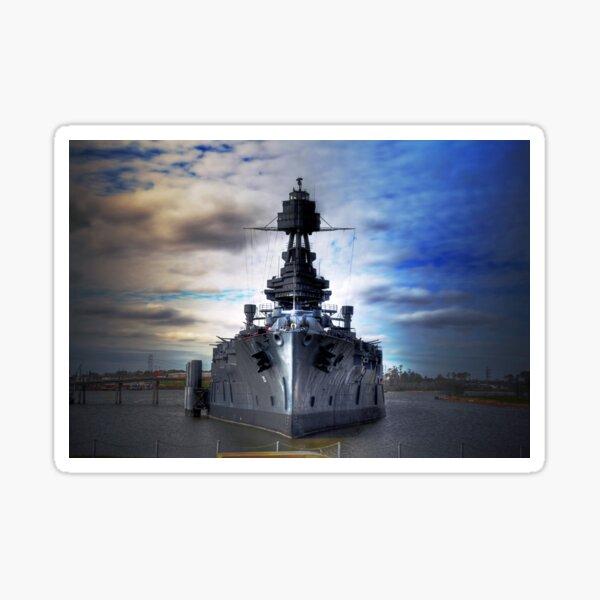 Battleship USS Texas Sticker