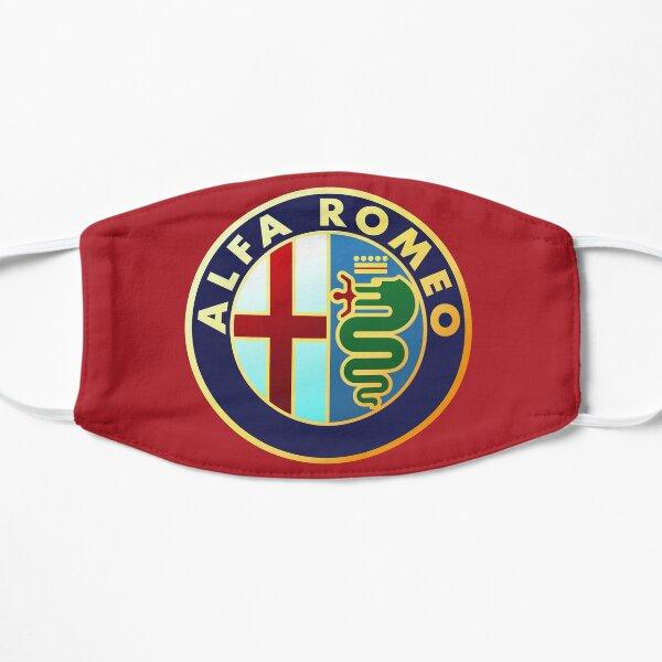 Alfa Romeo - Classic Car Logos Flat Mask