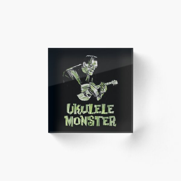 Ukulele Monster - Frank Acrylic Block