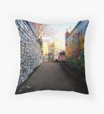 artistic ally  Throw Pillow