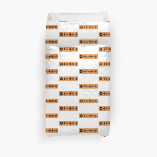 i aint got time by tyler the creator spotify code Duvet Cover