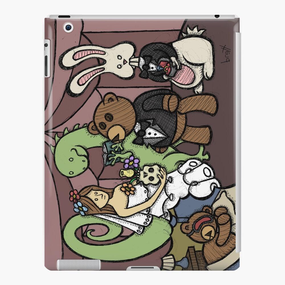 Teddy Bear And Bunny - Teddy's Dream iPad Case & Skin