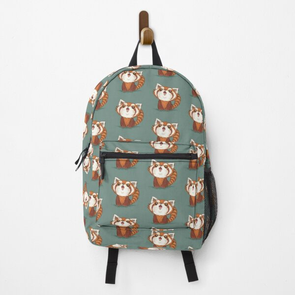 Red panda happy Backpack