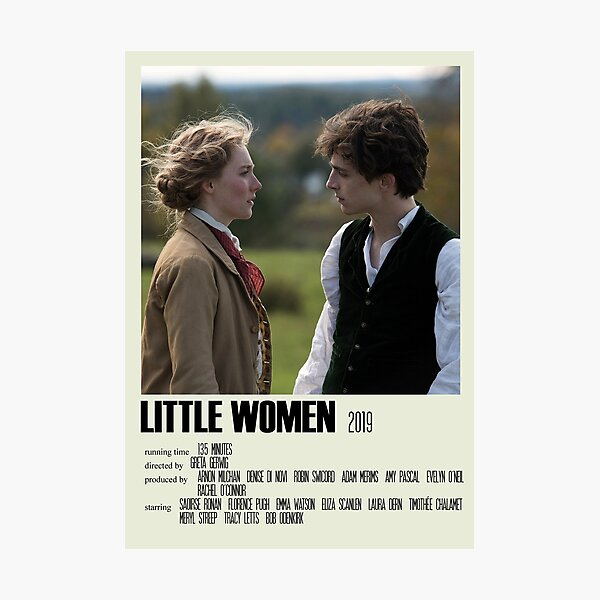 Little Women Alternative Poster Art Movie Large (1) Photographic Print