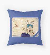 BARF! Throw Pillow