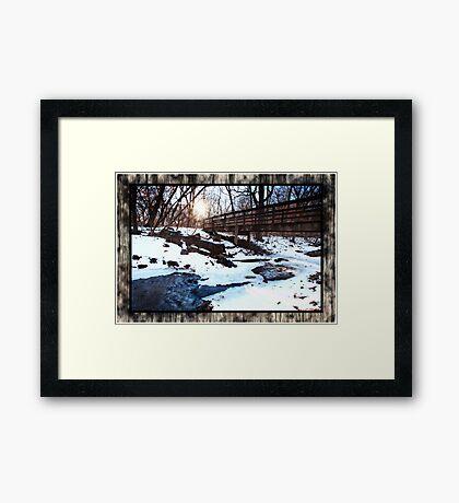 Platte River State Park Framed Print