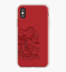 Red Asian Japanese Dragon iPhone Case iPhone-Hülle & Cover