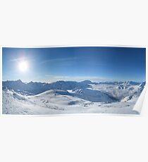 Les Deux Alpes Poster
