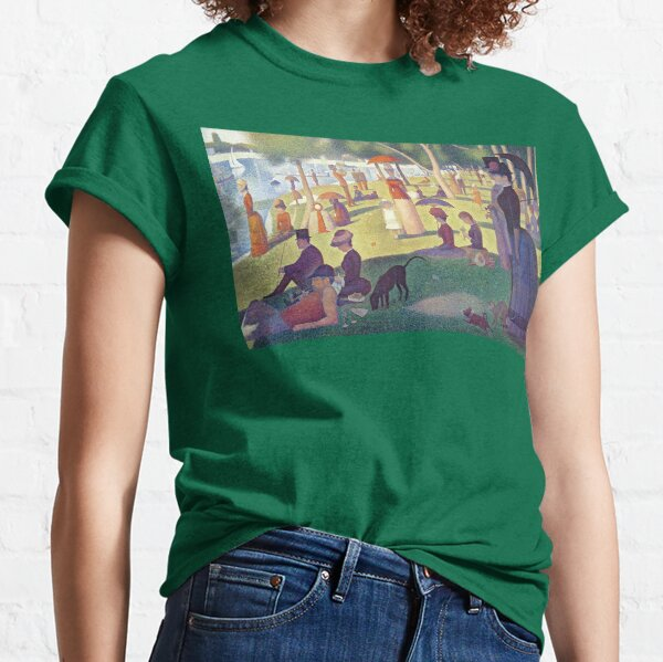 Georges Seurat Sunday Afternoon on the Island of La Grande Jatte Classic T-Shirt