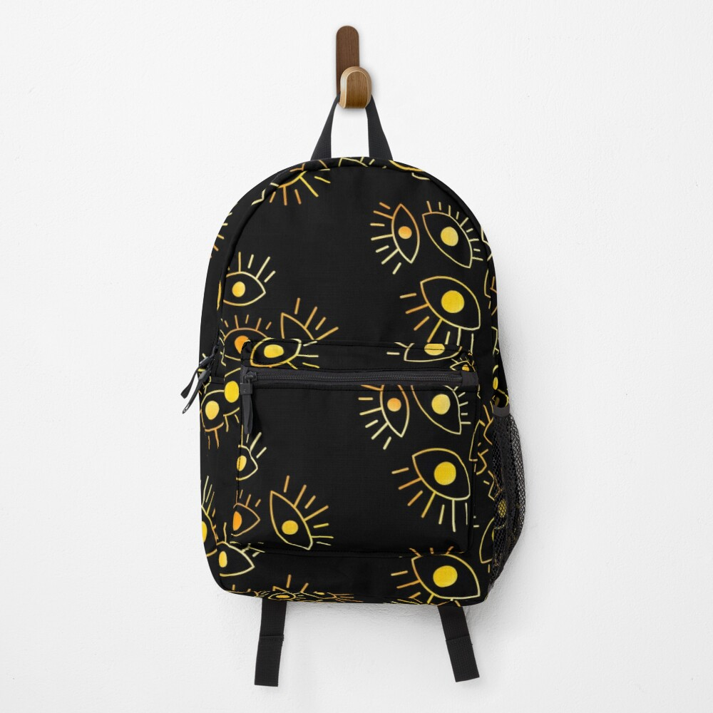 Eyes of the Void - Golden Fire Backpack