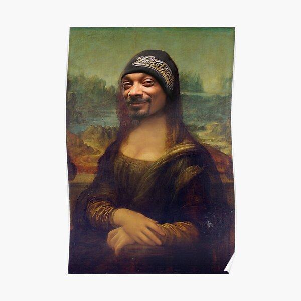 Snoop Dogg Mona Lisa Poster
