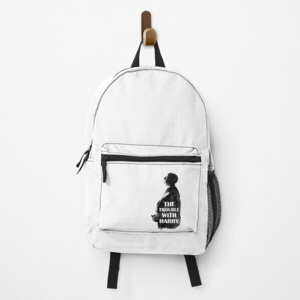 Hitchcock's The Trouble with Harry Watecolor Illustration Backpack