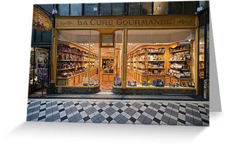 Paris shop by Victor Pugatschew