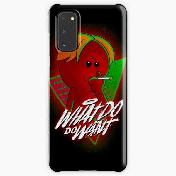 What Do You Want red meeseeks Samsung Galaxy Snap Case