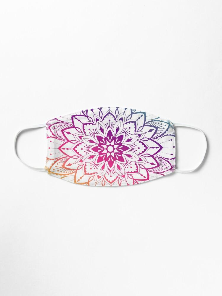 Alternate view of  Trendy Mandalas Design  Mask