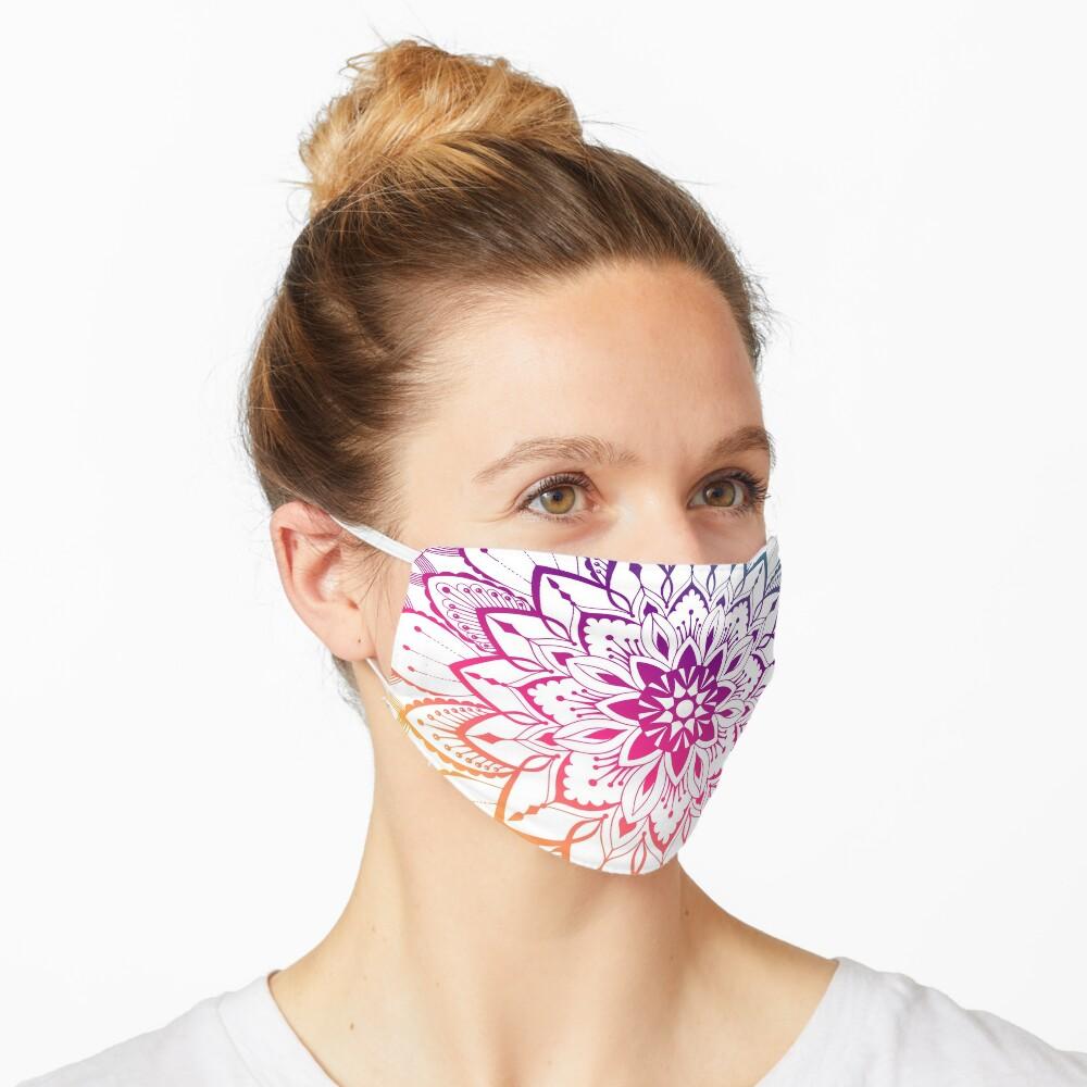 Trendy Mandalas Design  Mask