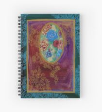 Roses - The Qalam Series Spiral Notebook