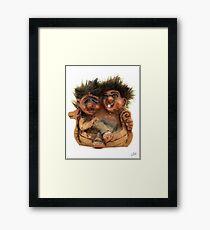 Twin Troll Framed Print