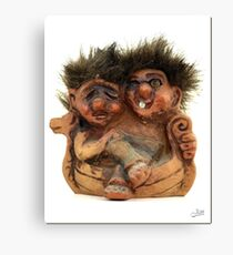 Twin Troll Canvas Print