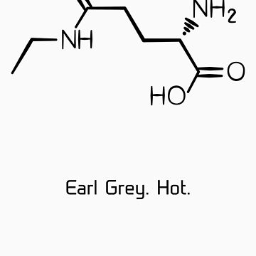 Tea. Earl Grey. Hot. (Black Version) by starkat