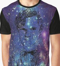 Matt Smith Galaxy  Graphic T-Shirt