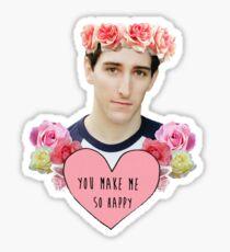 Ben Fankhauser is my life Sticker