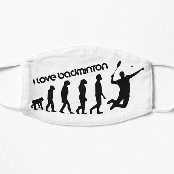 I love badminton Mask