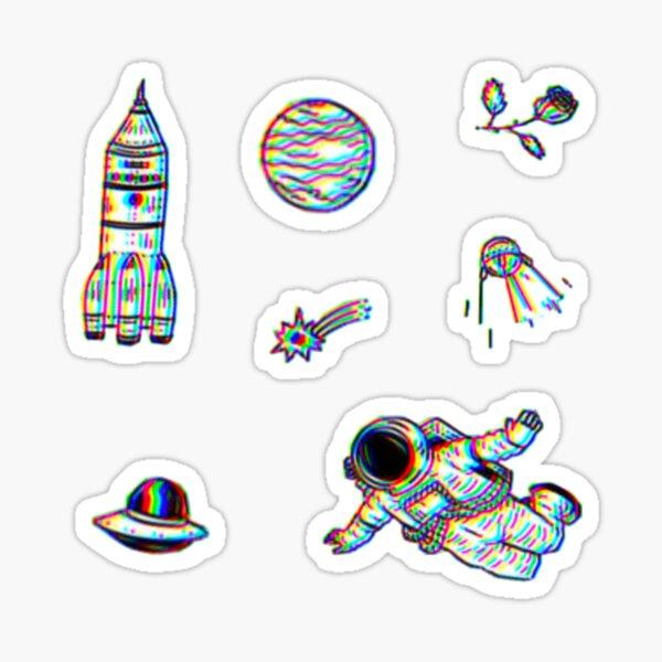 Trippy Space Pack Sticker