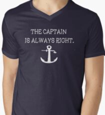 Captain Men's V-Neck T-Shirt