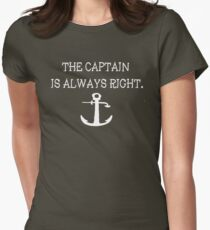 Captain Women's Fitted T-Shirt