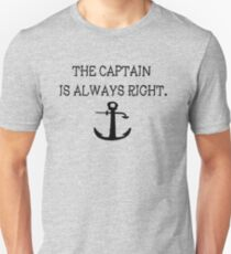 Camiseta unisex Captain