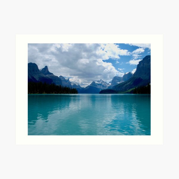 Rocky Mountains Calm Art Print