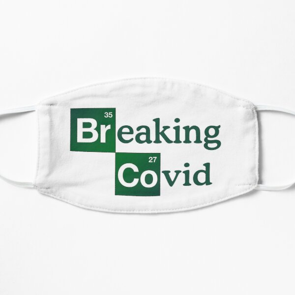 Breaking Covid  #Chemist Flat Mask