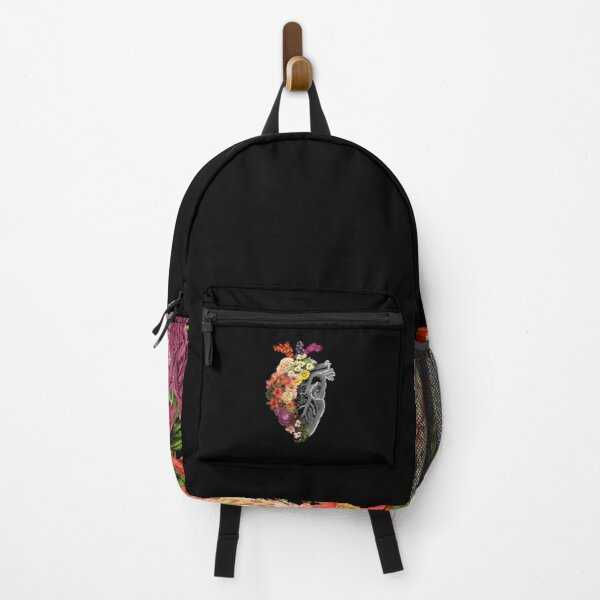 Flower Heart Spring Backpack