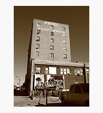 Abilene, Kansas - Hotel Sunflower Photographic Print