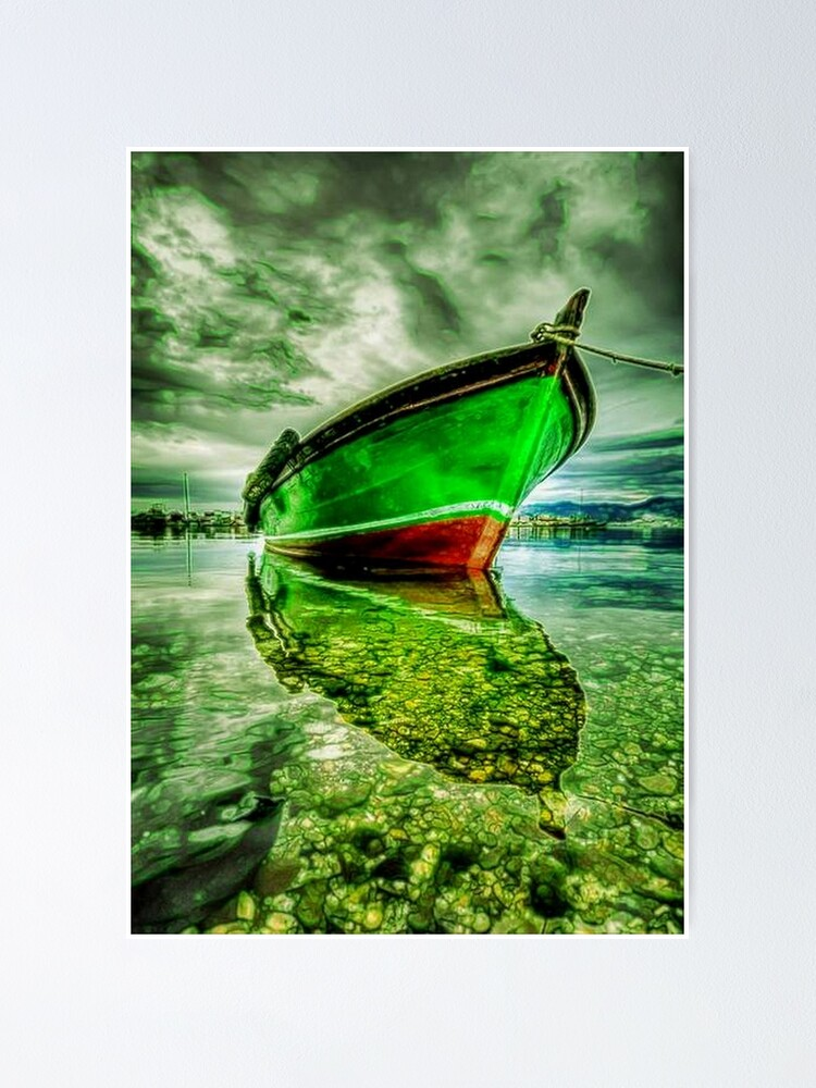 Alternate view of BOAT ANCHORED Poster