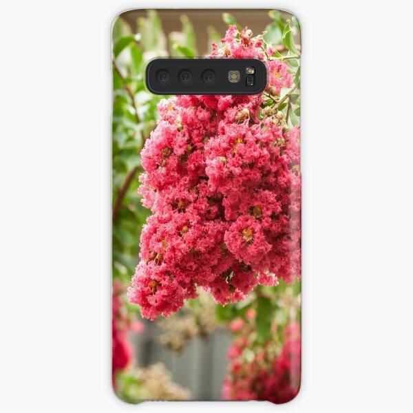 Pink Crepe Myrtle Samsung Galaxy Snap Case