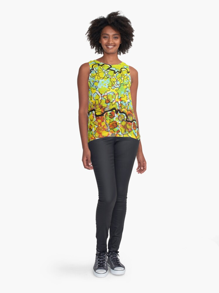 Alternate view of 6, Inset A Sleeveless Top