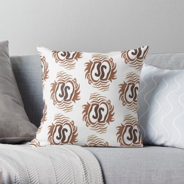 Tabby Deco Throw Pillow
